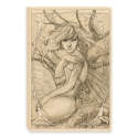 Pale Faerie drawing (Canvas)