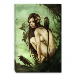 Lost dark princess nude (Canvas)