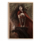 Sexy Little Red Riding Hood (Canvas)