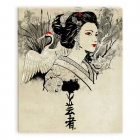 Geisha (Canvas)