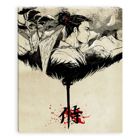 Samurai (Canvas)