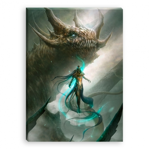 Dragon light (Canvas)