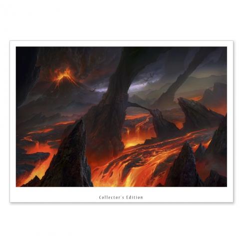 Lava fields (Collector sheet)