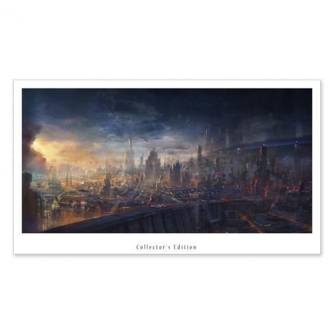 Modern City (Collector sheet)
