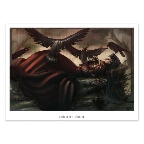 Sleeping beauty, colour (Collector sheet)