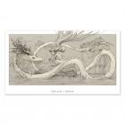 Alimentando al dragon - Dibujo