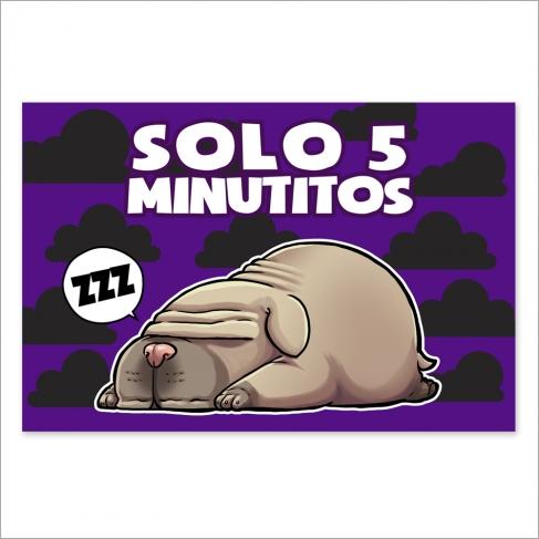 Solo 5 minutitos