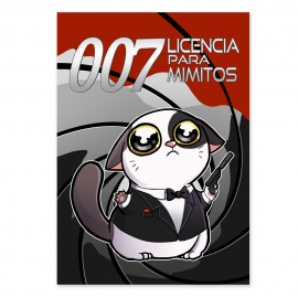 Cuddle me 007 James Bond (Poster)