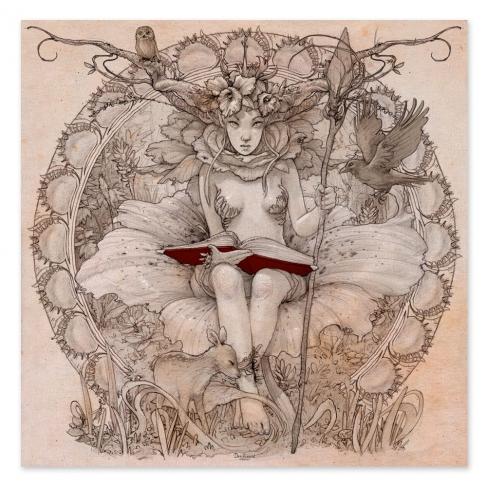 Espíritu del bosque - Drawing