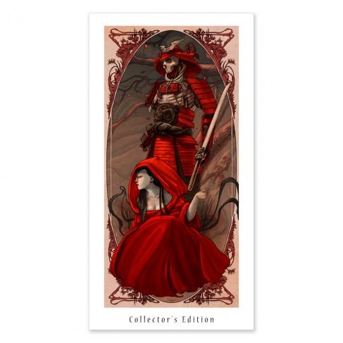 Noche roja - Colour