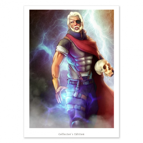 Zeus (Collector sheet)