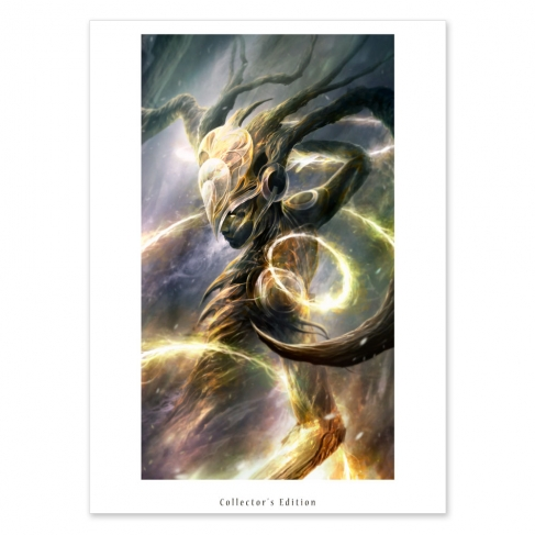Goddess of light (Collector sheet)