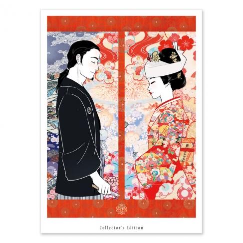Shinzen Shiki Groom and bride (Collector sheet)