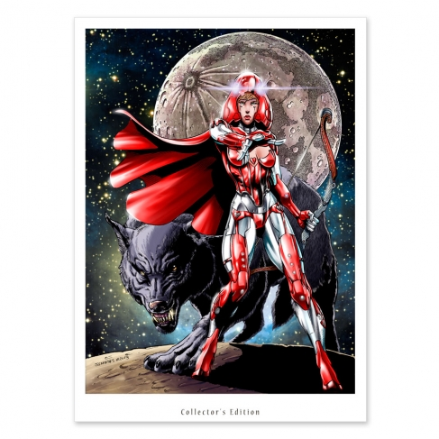 Mystic Little Red Riding Hood (Collector sheet)