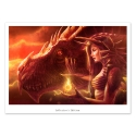 Fire Queen (Collector sheet)