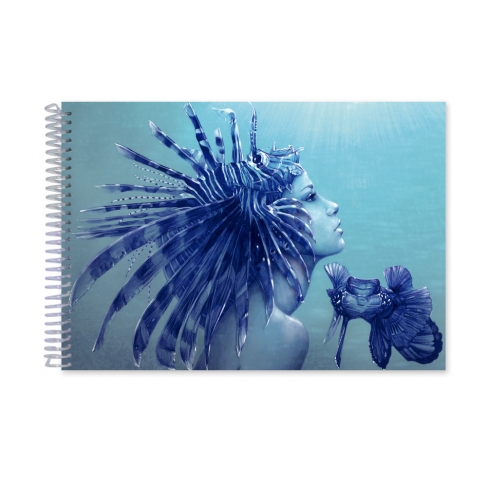Scorpion girl pen (Notebook)
