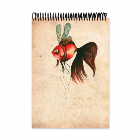 Dragonfly fish (Notebook)