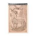 Centaur drawing (Notebook)