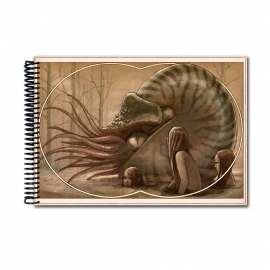 Nautilus creatures from the deep sea colour (Notebook)