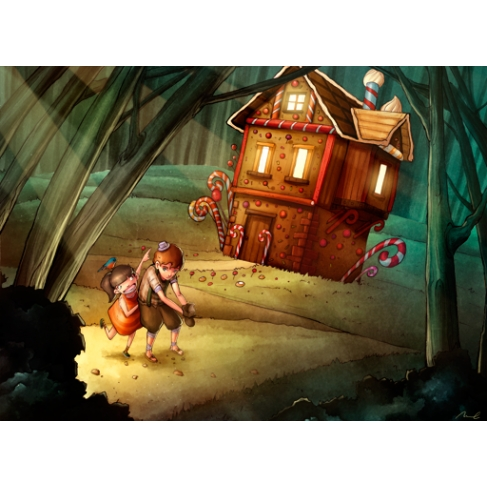 Hansel and Gretel (Poster)
