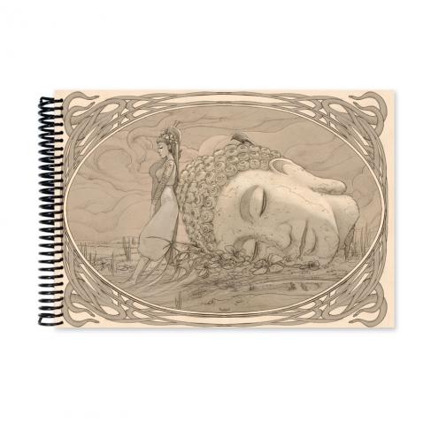 Buda - dibujo