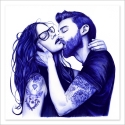 El beso - Boli BIC