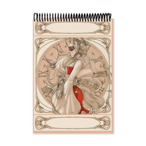 Geisha Steampunk drawing (Notebook)