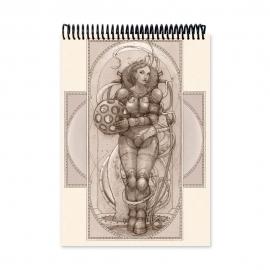 El pasajero - Dibujo