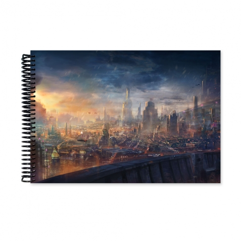 Modern City (Notebook)