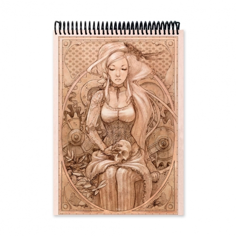 Steampunk drawing (Notebook)