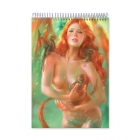 Redhead with dragons (Notebook)