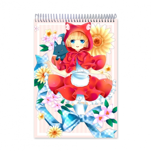 Happy Red Forest (Notebook)
