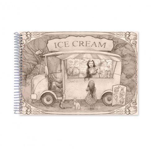 Ice Cream time drawing (Notebook)
