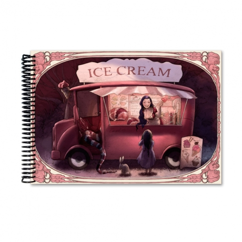 Ice Cream time colour (Notebook)