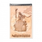Mother bird drawing (Notebook)