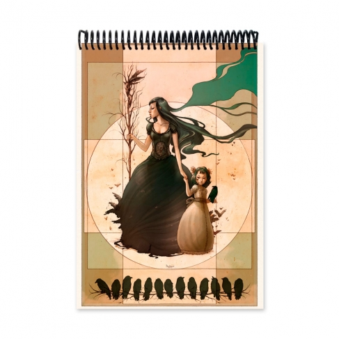 Mother bird colour (Notebook)