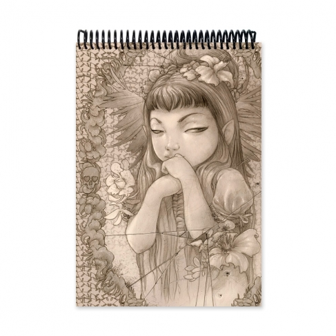 Mirror drawing (Notebook)