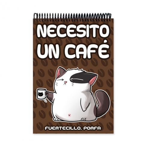 I want a coffee (Notebook)