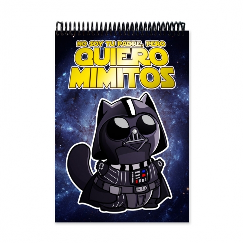 Cuddle me Darth vader (Notebook)