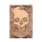 After skull drawing (Notebook)