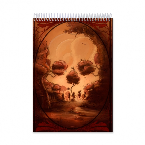 After skull colour (Notebook)