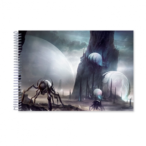 Temple of spheres (Notebook)