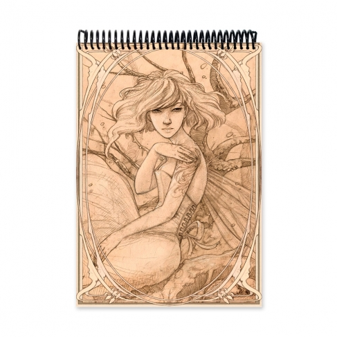 Pale Faerie drawing (Notebook)