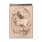 Unicorn drawing (Notebook)