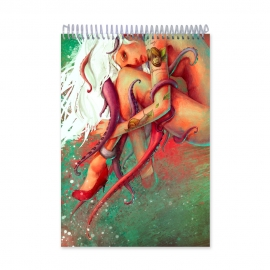 Germinated nut painting (Notebook)