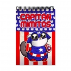 Cuddle me Captain America (Notebook)