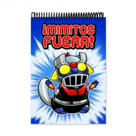 Cuddle me Mazinger (Notebook)