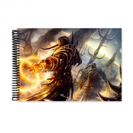 Guard of the sun lands (Notebook)