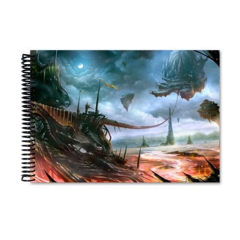 Into new worlds (Notebook)