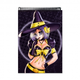 Witch smiling (Notebook)
